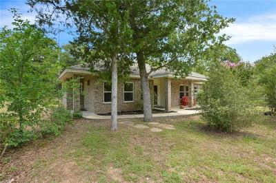 Bastrop County Single Family Home For Sale: 138 Deer Trail Cv