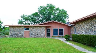 Jonestown Single Family Home Pending - Taking Backups: 8519 Grandview Dr