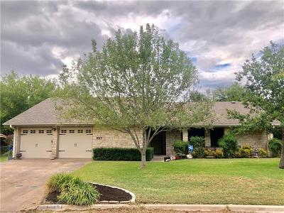 Taylor Single Family Home For Sale: 3013 Junie Ln