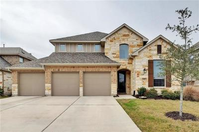Liberty Hill Single Family Home For Sale: 104 Orvieto Cv