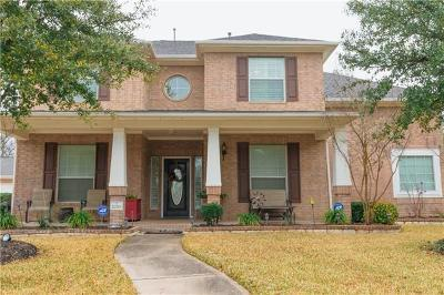 Round Rock Single Family Home For Sale: 2250 Fernspring Dr