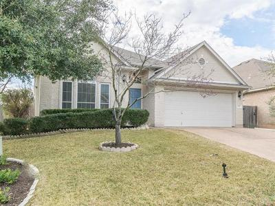 Travis County Single Family Home Pending - Taking Backups: 1701 Maize Bend Dr