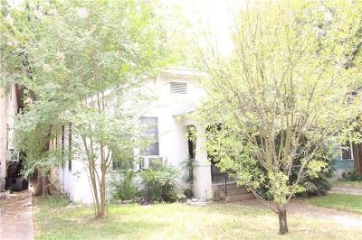 Travis County Single Family Home For Sale: 4113 Avenue D