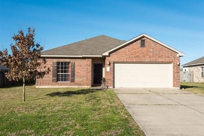 Hutto Single Family Home Pending - Taking Backups: 703 Kates Way