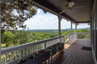 Wimberley Single Family Home For Sale: 1076 Lakeside Dr