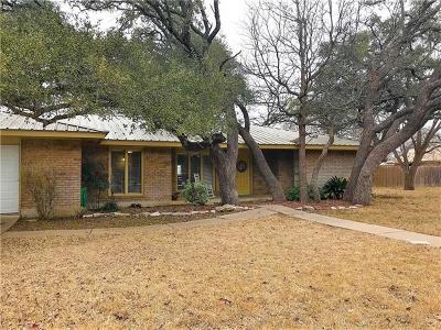 Burnet Single Family Home For Sale: 308 Evergreen Cir