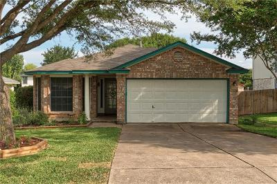 Cedar Park Single Family Home For Sale: 1002 Brashear Ln