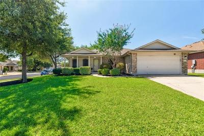 Leander Single Family Home Pending - Taking Backups: 1112 Chardonnay Xing