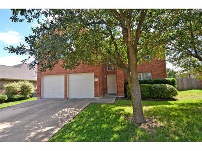 Pflugerville Single Family Home For Sale: 1121 Glendalough Dr