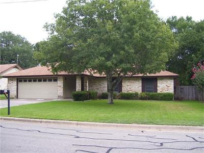Georgetown Single Family Home Pending: 3303 Primrose Trl