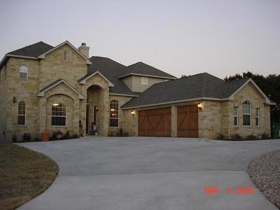 Dripping Springs TX Single Family Home For Sale: $949,000