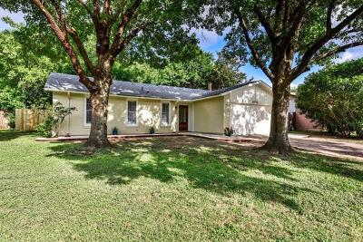 Round Rock Single Family Home For Sale: 1710 W Mesa Park Dr