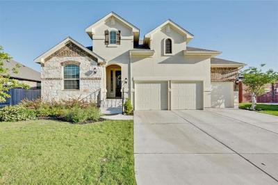 Leander Single Family Home For Sale: 2304 Citrine Cv