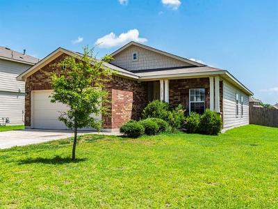 Hutto Single Family Home For Sale: 1213 Montell Ln