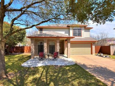 Cedar Park Single Family Home For Sale: 521 Territory Trl