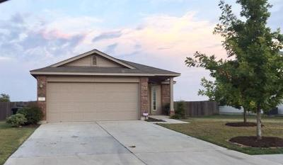 Hutto Single Family Home For Sale: 216 Lidell St