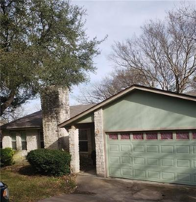 Austin Single Family Home Pending - Taking Backups: 11205 Brushy Glen Dr