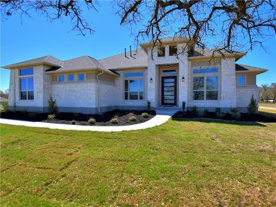 Liberty Hill Single Family Home Pending - Taking Backups: 308 Chicoma Cv