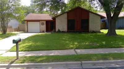 Austin Single Family Home For Sale: 1305 Barrington Dr