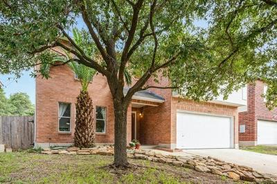 Cedar Park Single Family Home For Sale: 1905 Carriage Club Dr
