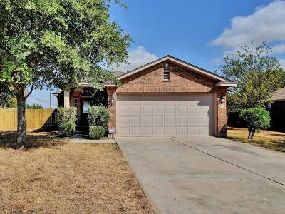 Leander Single Family Home For Sale: 1109 S Brook Dr