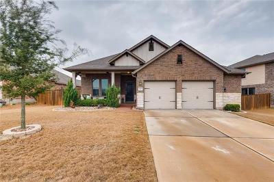 Round Rock Single Family Home For Sale: 2720 Santa Domingo Dr