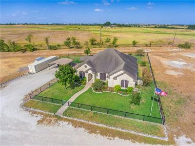 Hutto Single Family Home For Sale: 2190 County Road 105