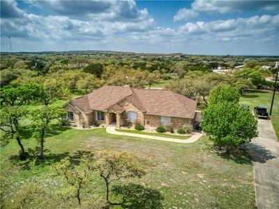 Dripping Springs Single Family Home For Sale: 371 Old Red Ranch Rd