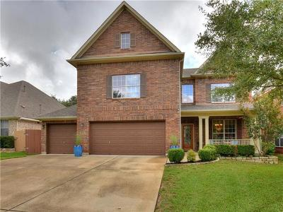Travis County, Williamson County Single Family Home Pending - Taking Backups: 10817 Split Stone Way