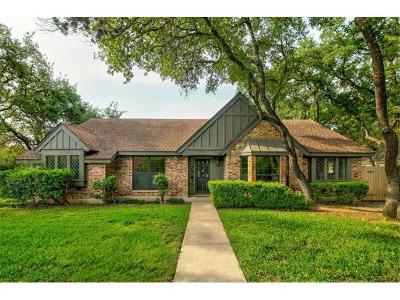 Travis County Single Family Home Pending - Taking Backups: 4501 Trail West Dr