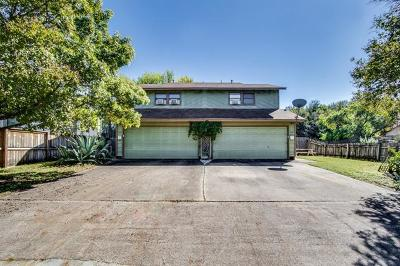 Austin Multi Family Home For Sale: 1121 Hollow Creek Dr