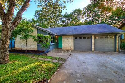 Austin Single Family Home Pending - Taking Backups: 5133 Meadow Creek Dr