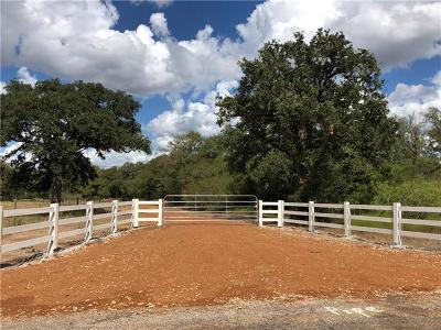 Bell County, Burnet County, Comal County, Fayette County, Hays County, Lampasas County, Lee County, Llano County, San Saba County, Travis County, Williamson County Farm For Sale: County Road 143