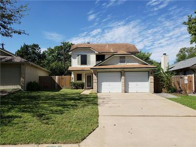 Round Rock Single Family Home For Sale: 1102 Greenbriar Loop
