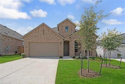 Manor Single Family Home For Sale: 11105 American Mustang Loop Loop