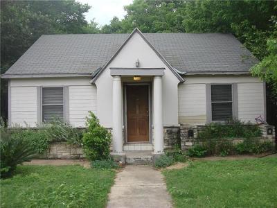 Austin Single Family Home Pending - Taking Backups: 5008 Duval St