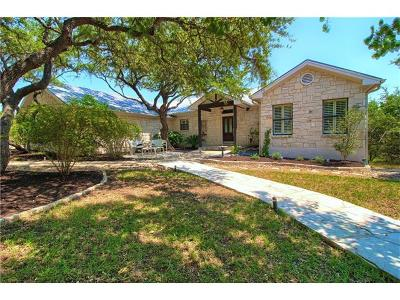 Dripping Springs Single Family Home Pending - Taking Backups: 10821 W Cave Loop