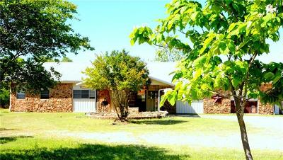 Burnet County Single Family Home For Sale: 3684 W State Highway 29