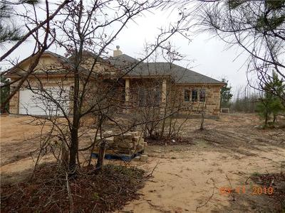 Paige Single Family Home For Sale: 181 Cardinal Loop