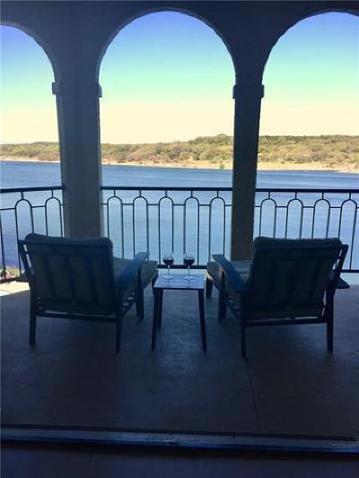 Lago Vista Condo/Townhouse For Sale: 3404 American Dr #3202