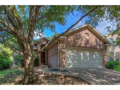 Round Rock Single Family Home Pending - Taking Backups: 902 Double File Trl