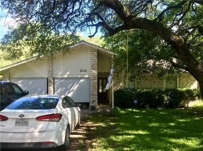 Single Family Home For Sale: 8502 Slant Oak Dr