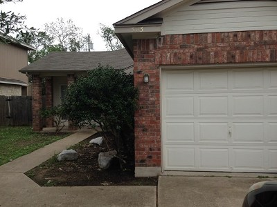 Round Rock Multi Family Home Pending - Taking Backups: 501-503 Gregory Ct