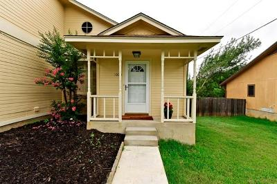 Round Rock Single Family Home For Sale: 1000 Parkside Cir