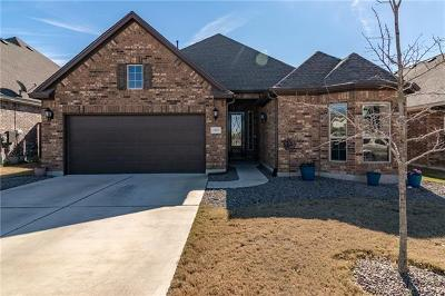 Leander Single Family Home For Sale: 2428 Granite Hill Dr