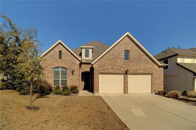 Leander Single Family Home For Sale: 3917 Good Night Trl