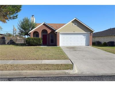 Killeen Single Family Home For Sale: 3210 Carpet Ln