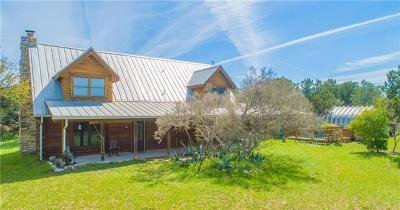 Burnet County Single Family Home For Sale: 7300 Park Road 4