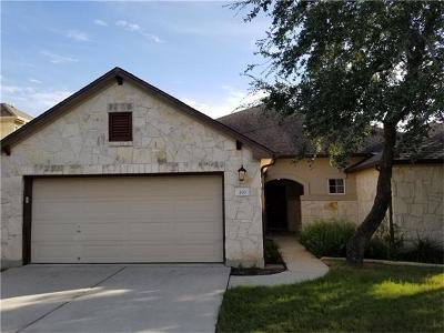 Austin Single Family Home Active Contingent: 470 Manchester Ln