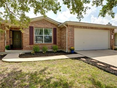 Leander Single Family Home For Sale: 408 Washington Square Dr
